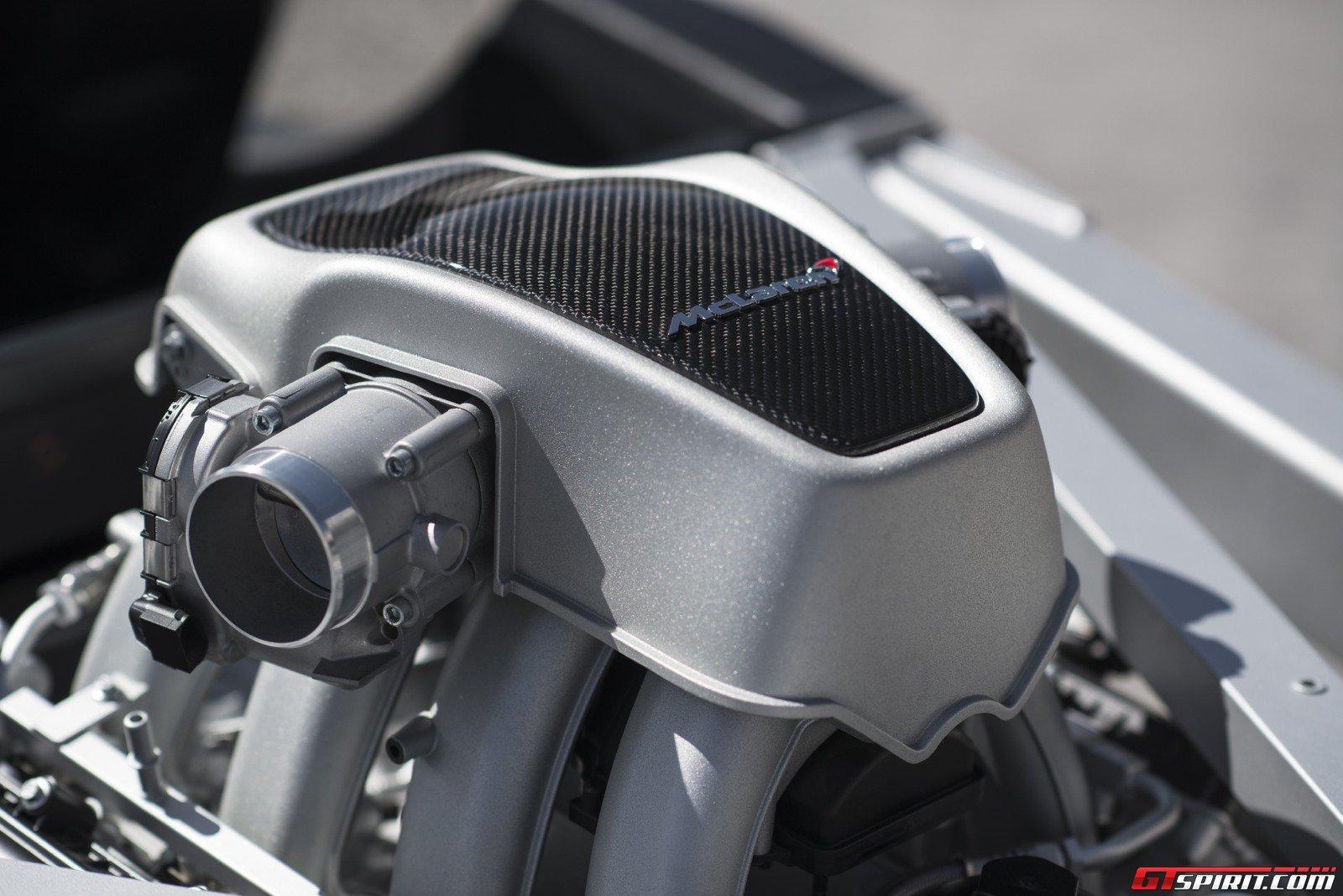 Turbo Mclaren p1 Mclaren 3.8-litre Twin-turbo