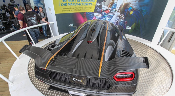 Koenigsegg One:1 at the Goodwood Festival of Speed 2014