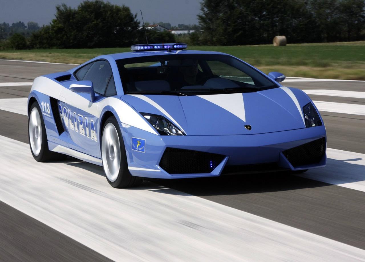 Lamborghini Aventador Polizia Car Wallpaper Root Wallpapers