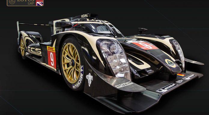 2014 Lotus LMP1 P1/01 Revealed at Le Mans