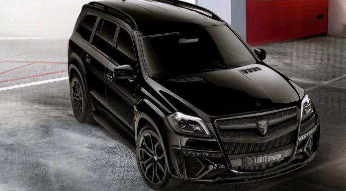 Mercedes-Benz GL Black Crystal by Larte Design