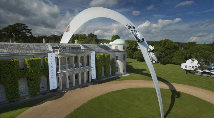 Mercedes-Benz Sculpture Unveiled at Goodwood 2014