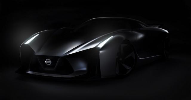 Nissan Teases Mysterious New Sports Car; Next-Gen GT-R?