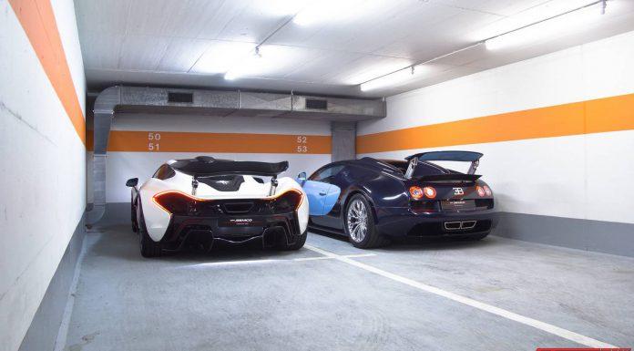 McLaren P1 and Veyron Vitesse