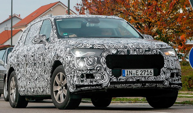Next-Generation Audi Q7 SUV to Debut Electric-Turbo Engine