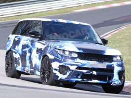 Video: 2015 Range Rover Sport RS Teased at the Nurburgring
