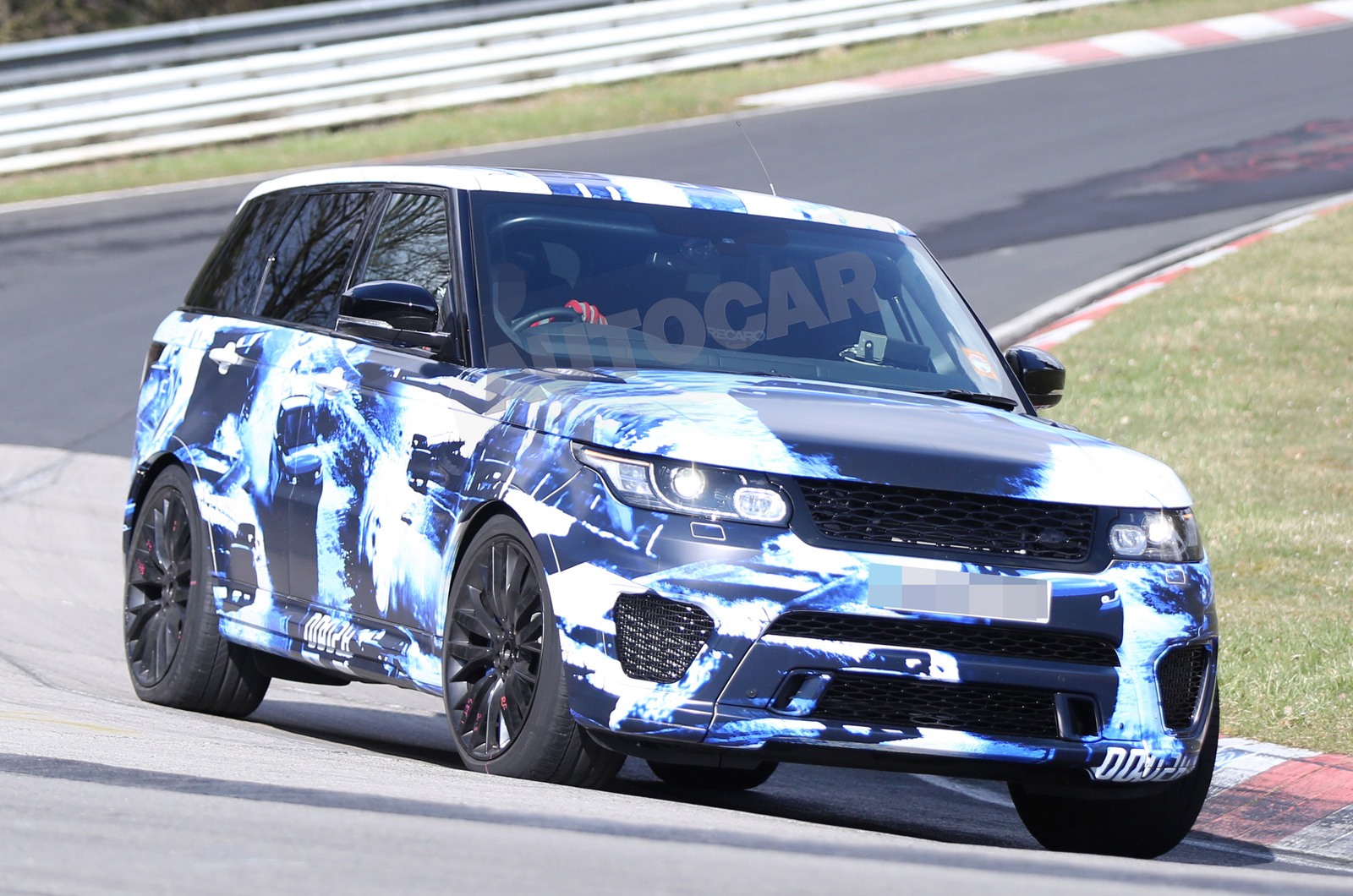 Video 2015 Range Rover Sport Rs Teased At The Nurburgring Gtspirit