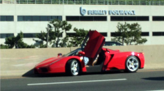Ferrari Enzo Crash in Connecticut