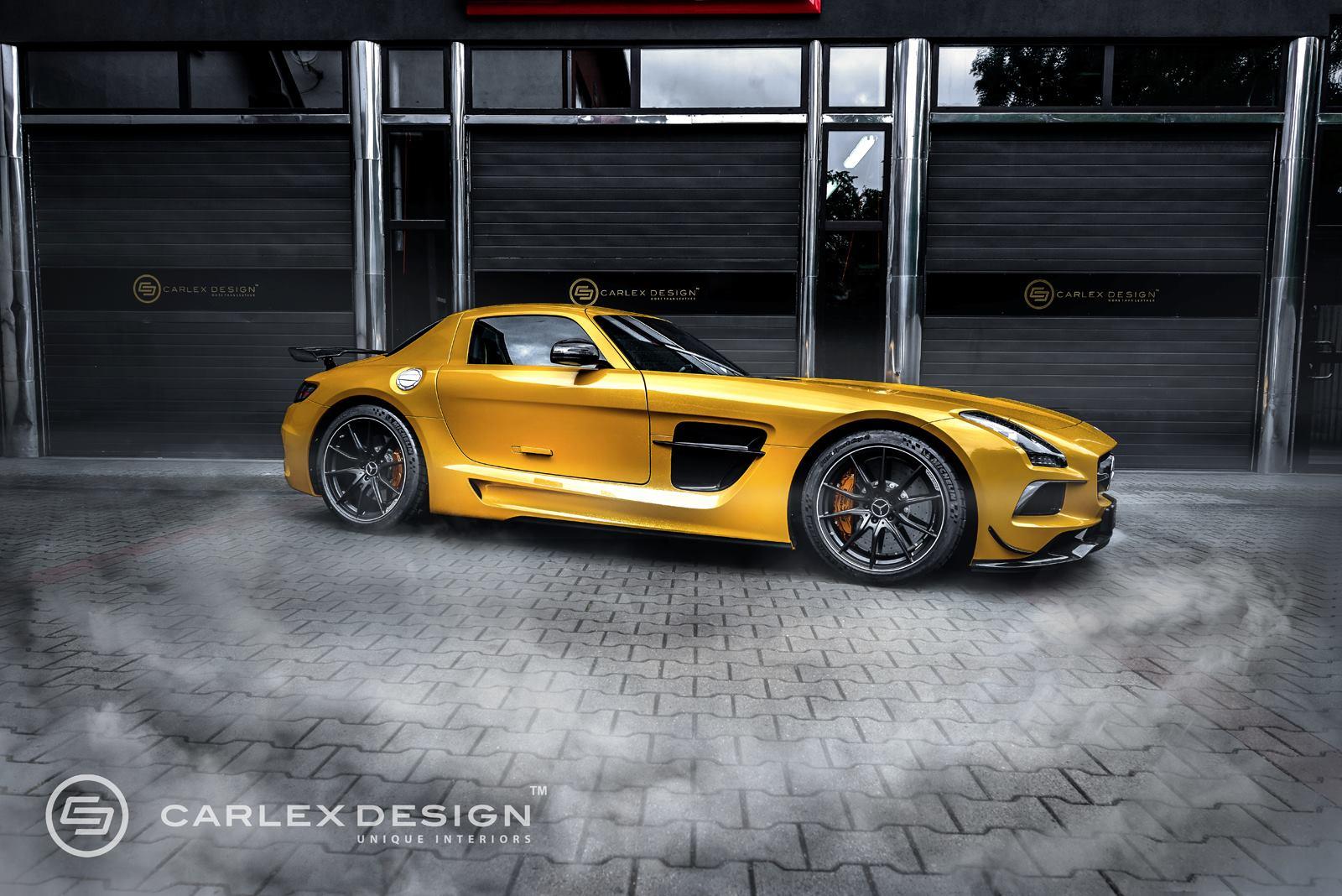 Official: Mercedes-Benz SLS AMG Black Series by Carlex Design