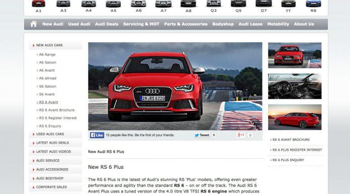 Details About 600hp 2014 Audi RS6 Avant Plus Leak