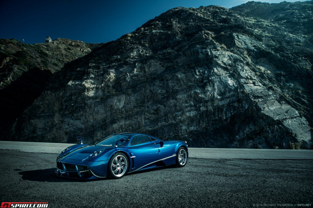 Roadtripping With a Blue Pagani Huayra and Mercedes-Benz SL65 AMG