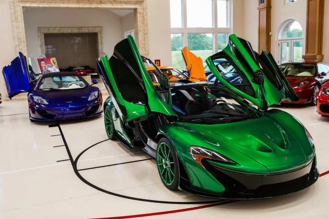 Green MSO McLaren P1 with Green Matched Wheels