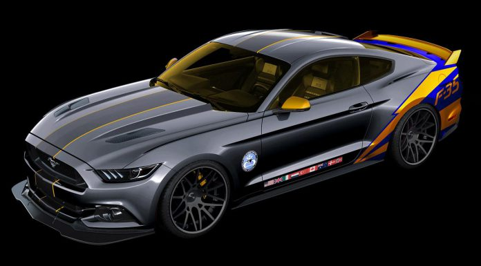 2015 Ford Mustang Lockheed Martin F-35 Lightning II Previewed