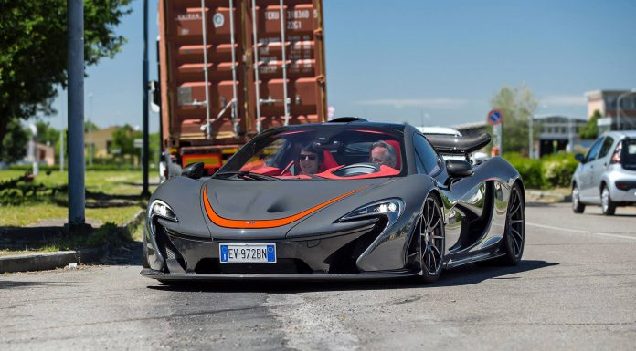 Photo Of The Day: Horacio Pagani Drives McLaren P1 MSO