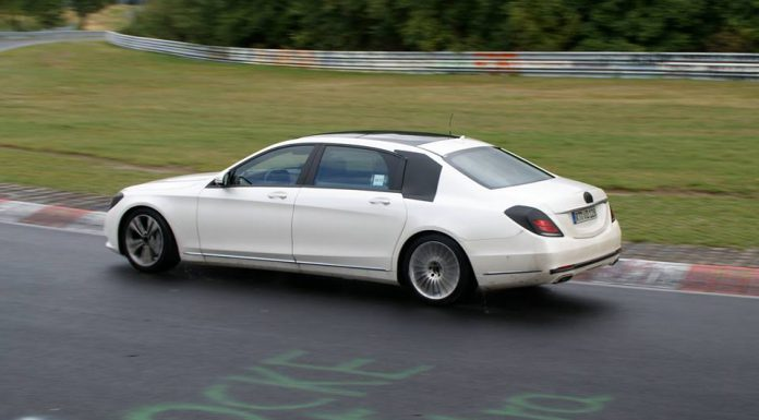 Mercedes-Benz S-Class Pullman Spotted at the Nürburgring