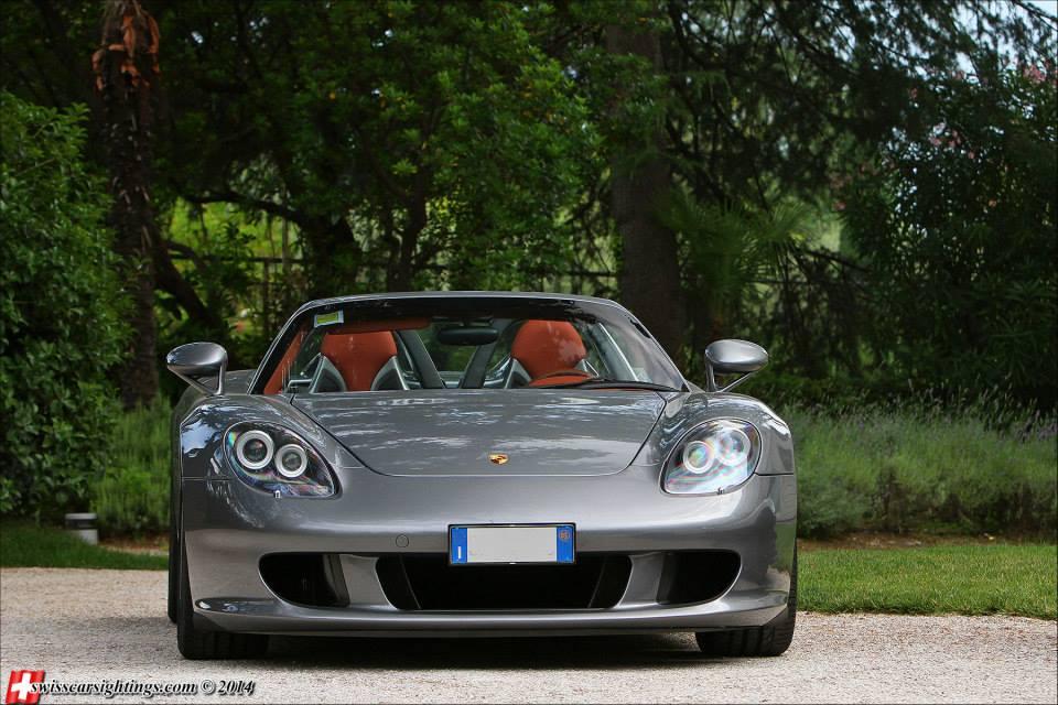 Horacio Pagani Porsche Carrera GT