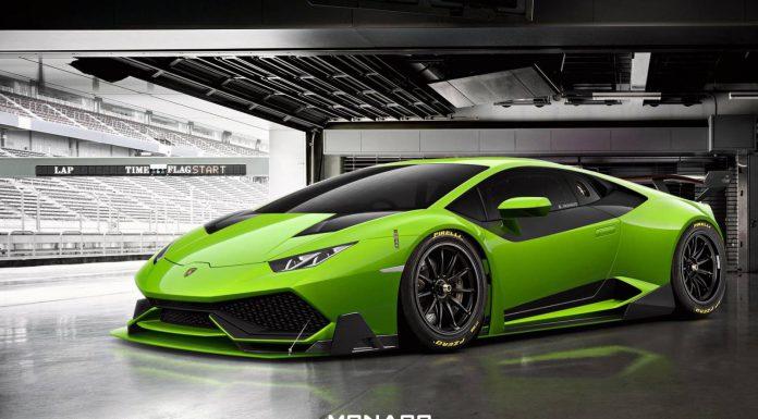 Lamborghini Huracan Super Trofeo Rendered