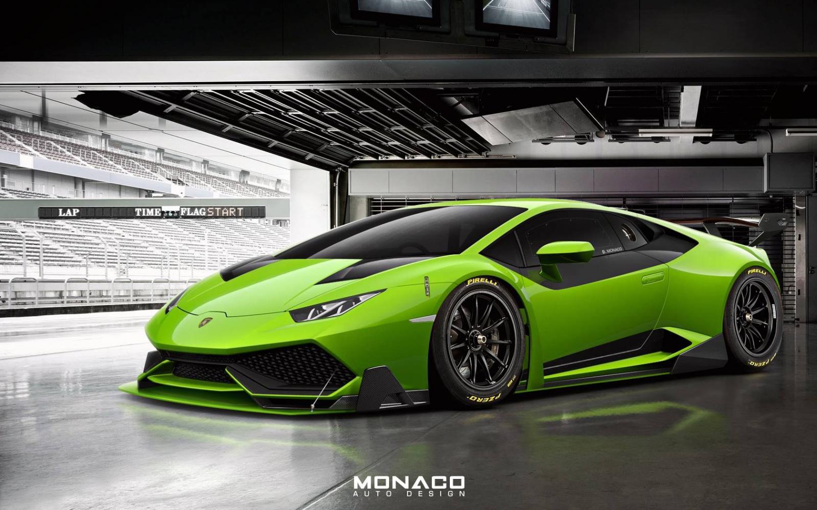 Lamborghini Huracan Super Trofeo от Monaco Auto Design