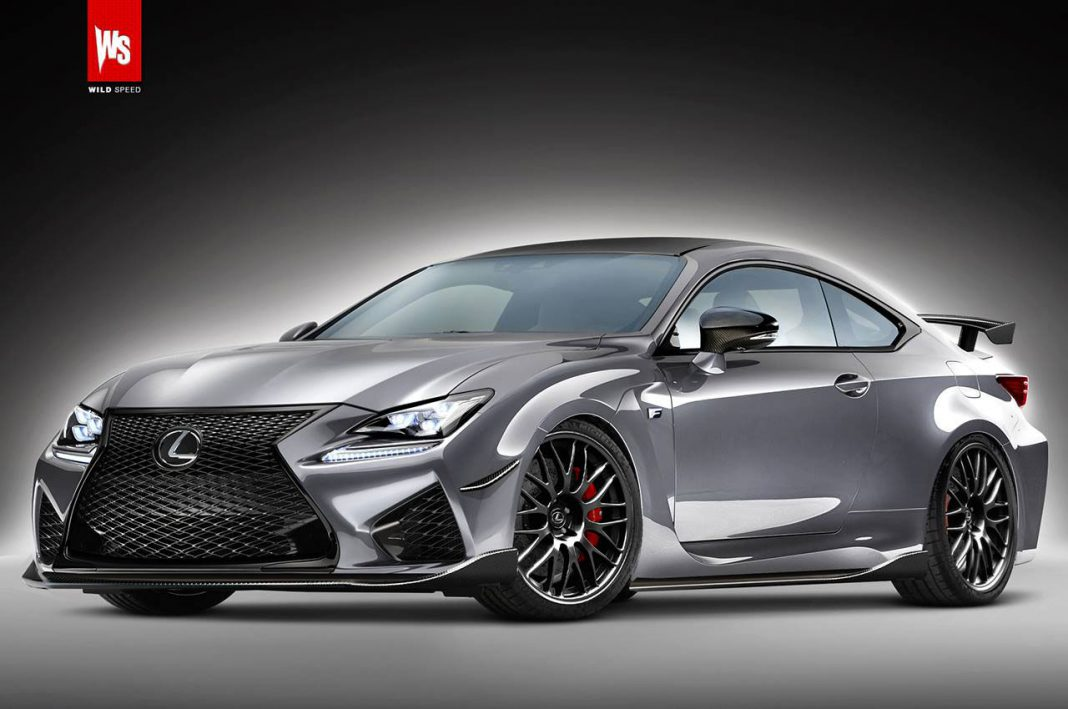 Render: 600hp Lexus RC FS Coupe Twin Turbo