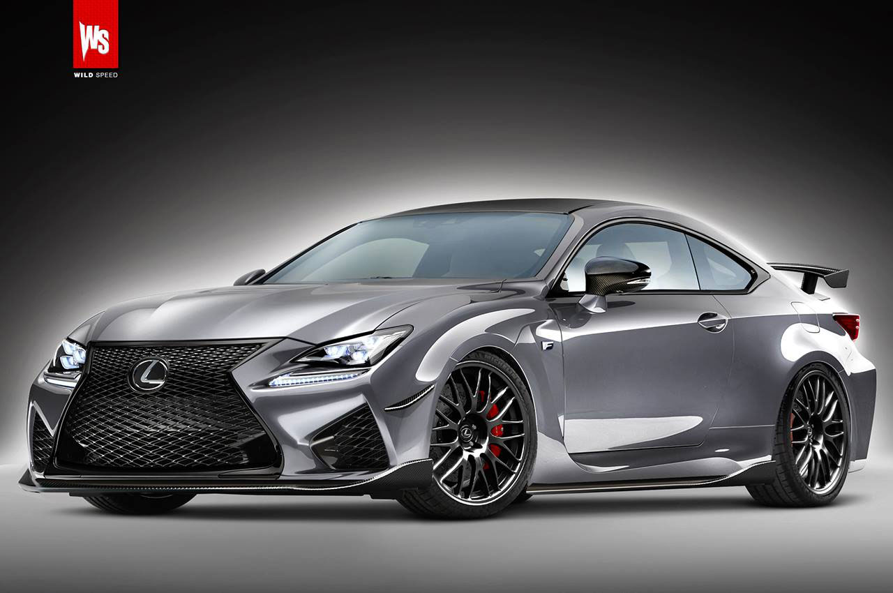 Render 600hp lexus rc fs coupe twin turbo