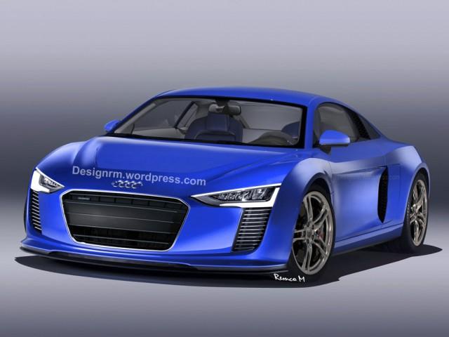 Next-Generation 2016 Audi R8 Rendered