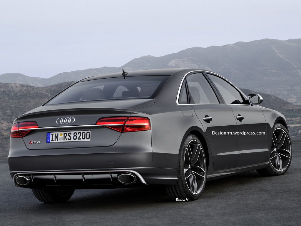 Audi Rs8 Gets Imagined We Approve Gtspirit