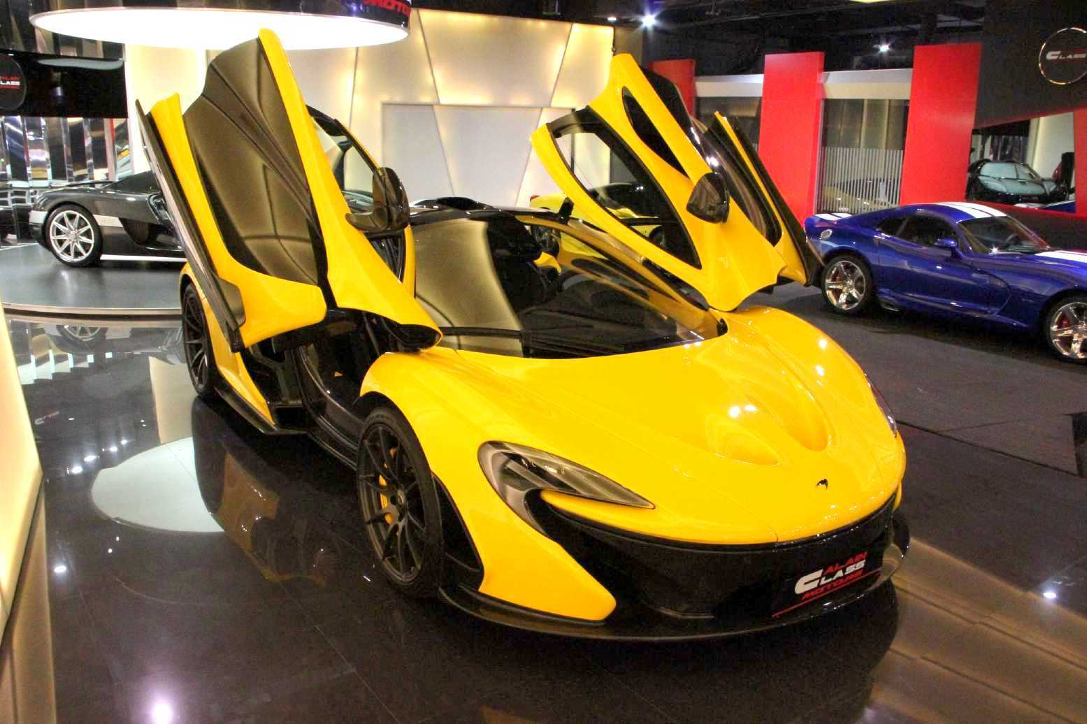 rare volcano yellow mclaren p1 for sale in dubai gtspirit. Black Bedroom Furniture Sets. Home Design Ideas