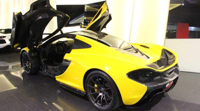 Rare Volcano Yellow McLaren P1 for Sale in Dubai