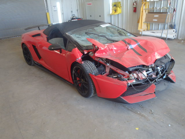 Wrecked Lamborghini Gallardo Lp570 4 Performante For Sale Gtspirit