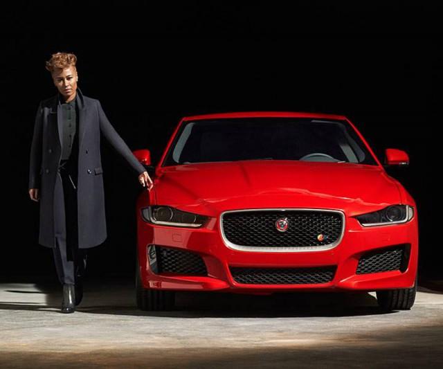 Jaguar XE with Emeli Sande