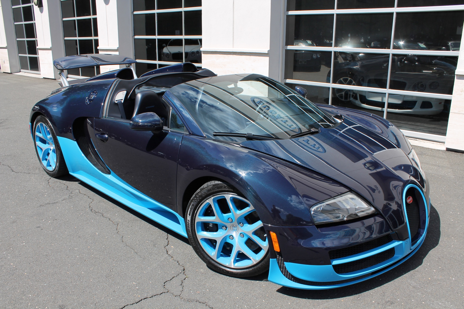 Two Bugatti Veyron Grand Sport Vitesse S For Sale At U S Dealer