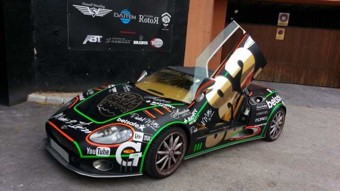 Gumball 3000 Spyker C8 Spyder For Sale