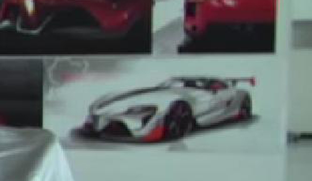 Possible Toyota FT-1 Racing Car Leaked