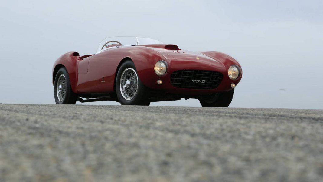 1954 Ferrari 375 MM Spider Pininfarina Bound for Mecum Auctions