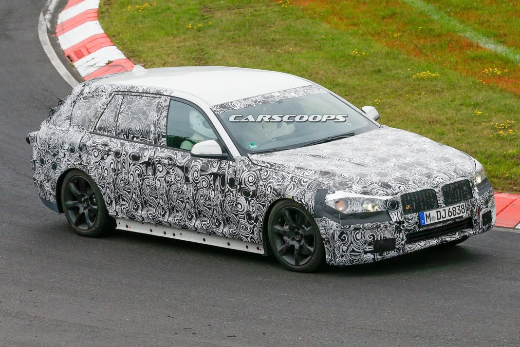Next-Generation BMW 5-Series Touring Snapped at the Nurburgring
