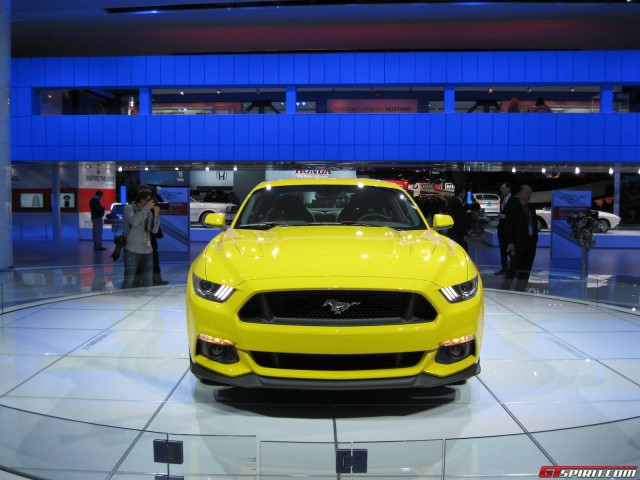 Ford Reveals Power Outputs for 2015 Mustang