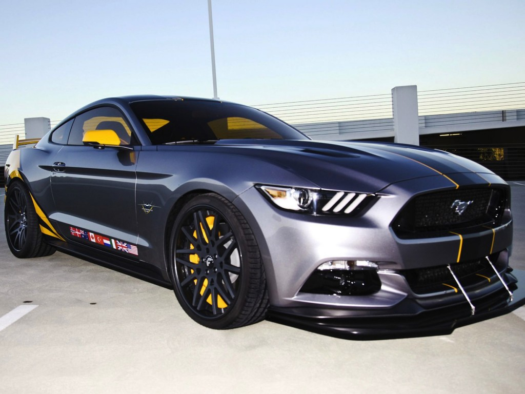 Official 2015 ford mustang inspired by f 35 lightning ii jet