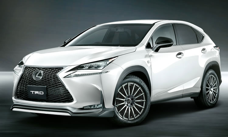 Official: Lexus NX by TRD