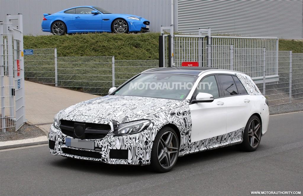 2015 Mercedes-Benz C 63 AMG Estate Spied