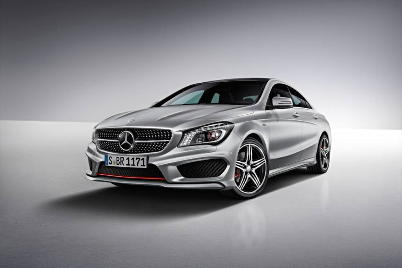 official 2014 mercedes benz cla250 sport package plus. Black Bedroom Furniture Sets. Home Design Ideas