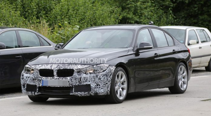 Facelifted 2016 BMW 3-Series Spied Testing