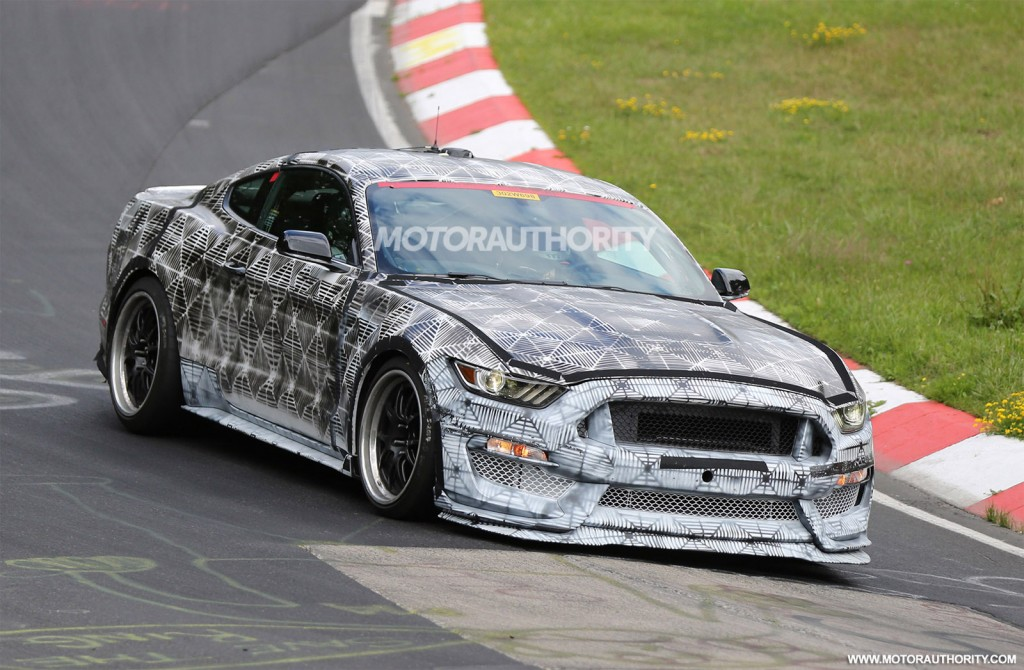 2015 Ford Mustang GT350 SVT Tests at the Nurburgring