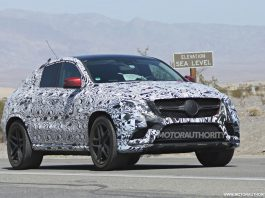 Exciting Mercedes-Benz ML Coupe Continues Testing