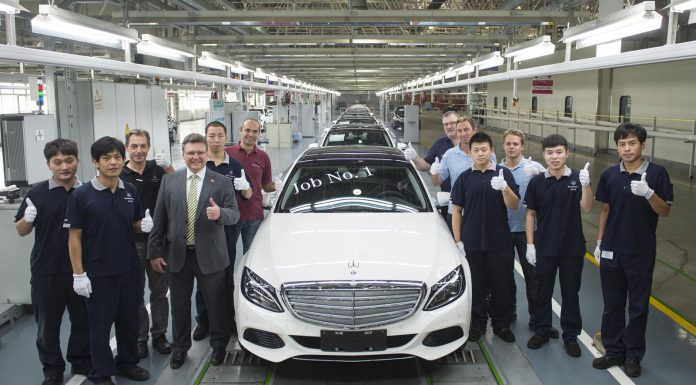 Chinese Production of Mercedes-Benz C-Class L Commences