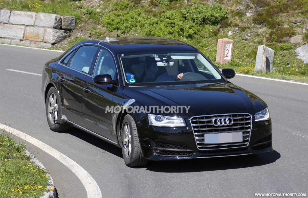 2018 Audi A8 Spied Testing