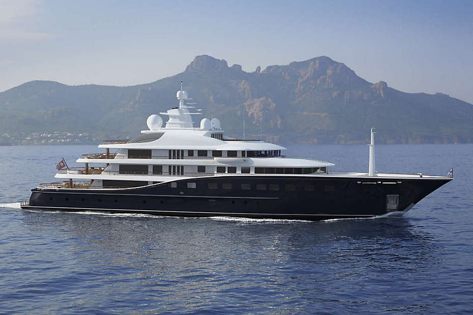 Largest Superyacht Built in U.S. Since 1930s For Sale