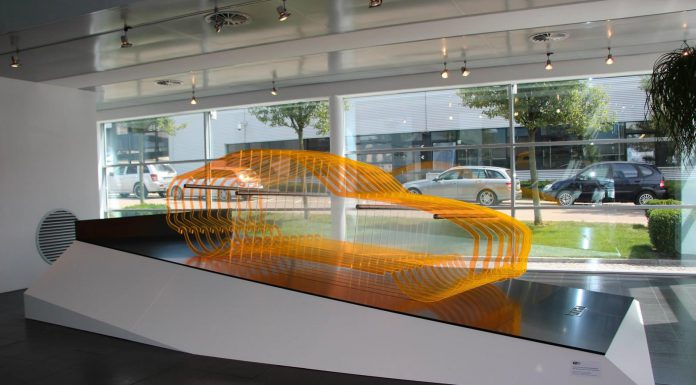 Mercedes Displays AMG GT Sculpture in Affalterbach