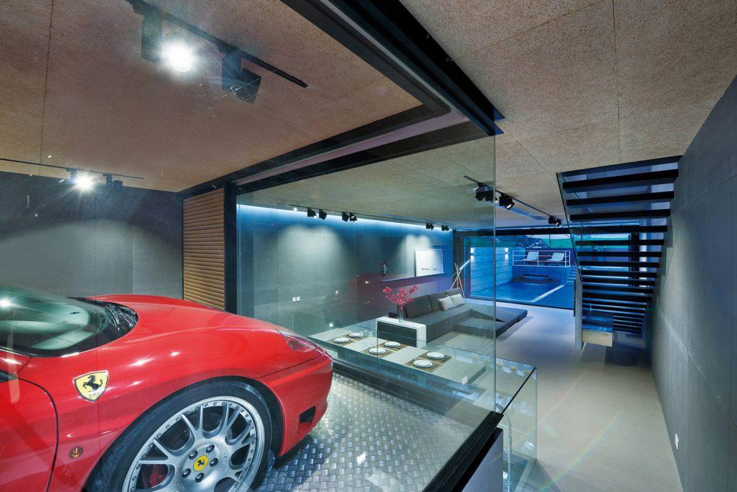 Stunning Hong Kong Mansion Has Room for Owner's Ferrari!