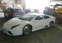 White Lamborghini Reventon Replica For Sale in U.S