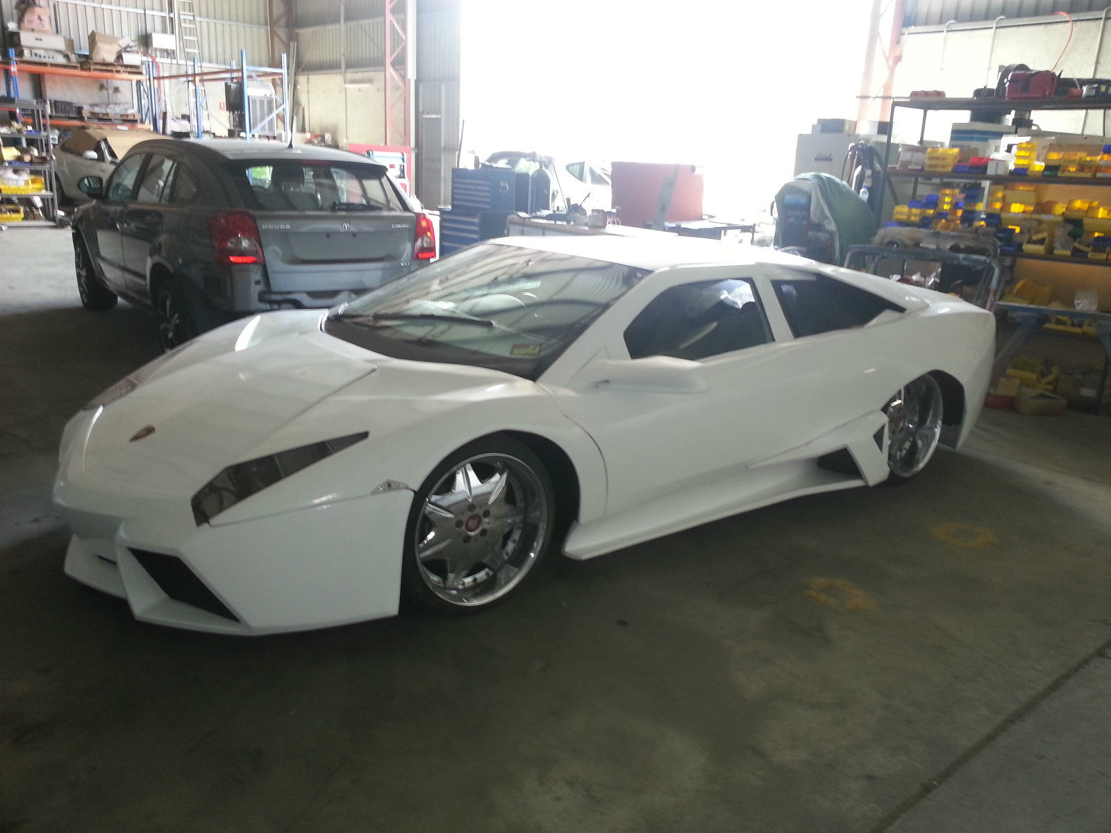 White Lamborghini Reventon Replica For Sale In U.S